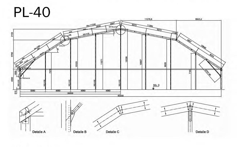 medida de carpa pl-40