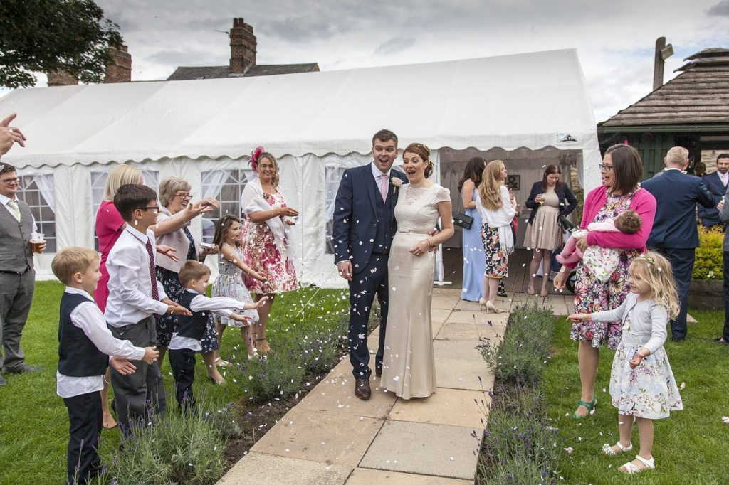 carpa para una boda